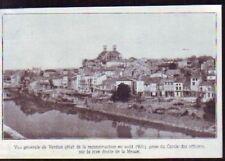 1921  --  VUE GENERALE DE VERDUN ETAT DE RECONSTRUCTION AOUT 1921  Z510