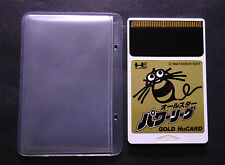 ALL STARS POWER LEAGUE GOLD CARAVAN PC Engine HuCARD JAPAN Excellent.Condition !
