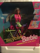 1995 Bicyclin Barbie Boxed Doll NRFB-RARE Mattel