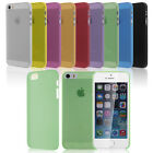New Clear Ultra Thin 0.3mm Matte Back Case Cover Protective Skin for iPhone 5 5G