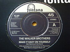 "WALKER BROTHERS - MAKE IT EASY ON YOURSELF  7"" VINYL"