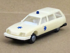 Citroen CX Break Kombi in weiß Ambulanz o.OVP, Praliné, 1:87