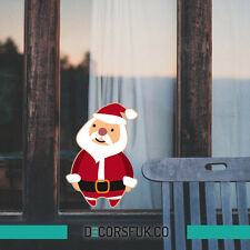 Santa Claus Christmas Stickers - Christmas windows stickers - Santa stickers
