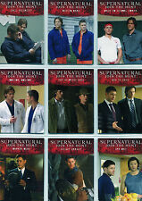 Supernatural Seasons 4 to 6 Disguises Complete 9 Chase Card Set D1 to D9