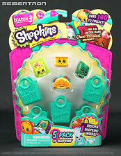 Shopkins 5-Pack SEASON 3 Hidden Ultra Rare 2015 Nilla Slice New