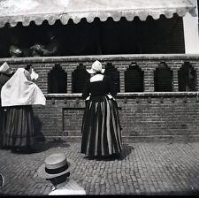 VOLENDAM c. 1900 - Grand Négatif  Hollande - FD 189