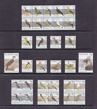 Philippines Stamps 2007 MNH complete Birds issues AWESOME!