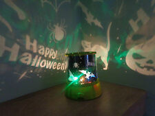 Happy Halloween Spook Master Projector Light/Pumpkin/Witches/Bats/Spider
