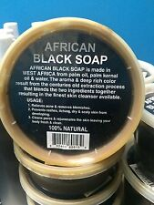 24 AFRICAN BLACK SOAP paste 100% Natural, Raw, Organic & Handmade 8oz Tub