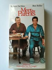 Meet the Parents Movie VHS Home Video Ben Stiller, Robert De Niro, Owen Wilson
