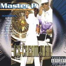 Ice Cream Man [Reissue] [PA] by Master P (CD, Oct-2005, Priority)