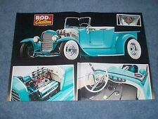 "1927 Ford Roadster Hot Rod Pickup Article ""Surfer Bird"" Model T"