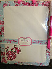 New Lilly Pulitzer Pi Beta Phi Sorority Dry Erase Memo Board with Pen