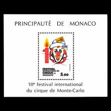 Monaco 1984 - 10th International Circus Festival Clown Art - Sc 1446 MNH