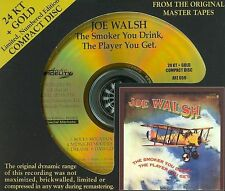 SEALED AUDIO FIDELITY GOLD CD The Smoker You Drink The Player You Get  Joe Walsh