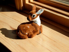 Realistic BAMBI Fawn Deer Fake Fur REPLICA Figurine Toy dr473 FREE SHIPPING USA