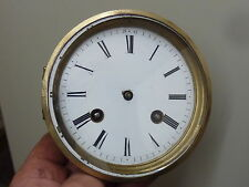 ANTIQUE FRENCH CLOCK  STRIKING MOVEMENT & DIAL (DD)