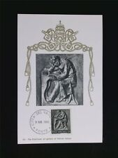 VATICAN MK 1966 BERUFE PHILOSOPH PHILOSOPHIC MAXIMUMKARTE MAXIMUM CARD MC c6200