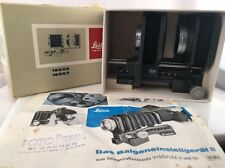 Leitz Leica Hammertone Grey Bellows & Sunshade 16557, 16557Q, 16556 BOXED MINT!