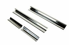 Entry Guards 4 pc 4 Door Polished Stainless Jeep Wrangler JK 2007-2016 30585