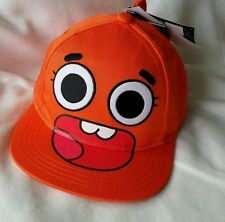 Amazing World of Gumball Darwin Baseball Cap Junior 9-13 New Official Genuine