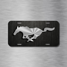 Mustang Pony Vehicle Aluminum License Plate Auto Car NEW gt hatchback coupe