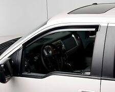 Tinted Window Visors Fits 2011-2014 Ford F150 Super Cab & Crew Cab (Fronts Only)