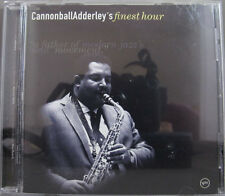 Cannonball Adderley's Finest Hour by Cannonball Adderley (CD, May-2001, Verve)