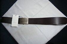 ARMANI JEANS MEN BELT BROWN