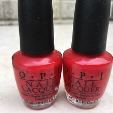 2 x OPI THE COLOR OF MINNIE (NL M16)