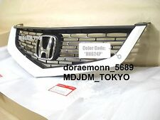 Oem *NH624P*  Front Grille +Center H emblem 06-07 HONDA ACCORD CL7 CL9 ACURA TSX