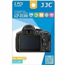 JJC LCP-D5300 ultra hard polycarbonate LCD Film Screen Protector For NIKON D5300