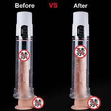 Male Electric Beginner Penis Pump Enlarger Enlargement Sleeve Erection Enhancer
