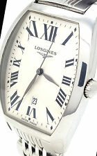 Genuine Longines Evidenza Stainless Steel Men's Watch, L2,655.4
