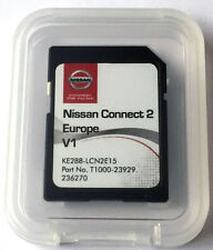 SD Card - LATEST map Europe for Nissan Connect 2TM V1 KE288-LCN2E15 (2016)