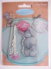 ME TO YOU CLEAR STAMPS - TEDDY BEAR WITH TEAPOT