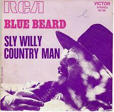 """BLUE BEARD SLY WILLY / COUNTRY MAN FRENCH 45 PS 7"""" PSYCH"""
