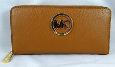 MICHAEL Michael Kors Fulton ZA Continental luggage Pebbled Leather Wallet
