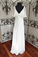 G31 MORRELL MAXIE 13373 SZ 18 IVORY WEDDING GOWN DRESS