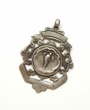 Antique B'Ham 1900 925 Silver WILLIAM JAMES DINGLEY FOOTBALL ALBERT MEDAL 6.8g