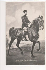 Vintage Postcard King Christian IX of Denmark
