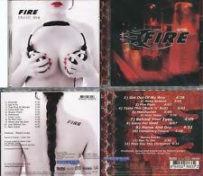 2 CDs, Fire - Ignite (2010/+2 Bonus Tracks) + Thrill Me (2009), great Hard Rock