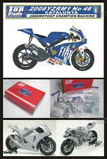 1/12 Yamaha YZR-M1 #46 2008 Trans / Super Detailing set by Top Studio MD29007