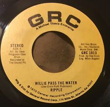 RIPPLE Willie Pass The Water/Git Owf 45 GRC funk soul