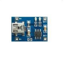 TP4056 Mini USB 5V 1A 18650 Lithium Battery Charger Board Protection Module