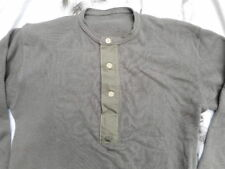 ORIGINAL WW2 NORWEIGAN NORWAY WIKING GERMAN ARMY waffle UNDER SHIRT MOUSE GREY