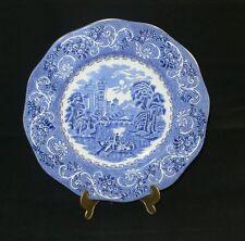Wedgwood Enoch Tunstall River Scene blau blue Speiseteller 25 cm Dm