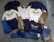 "ensembles fille  ~~  4/ 5 ans  ***CATIMINI***   City ""Casual Lady"" - 17 pièces"