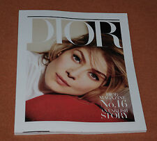 "DIOR MAGAZINE N°16 ""ENGLISH STORY"" AVEC ROSAMUND PIKE FALL / WINTER  2017"