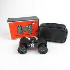 Bob ottica scala 2,5x vetro di opera Binocolo OPERA GLASSES Binoculars Black in case